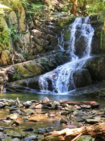 A shot of the Indian Brook Falls. (Photo courtesy of Michelle Ricciardi.)