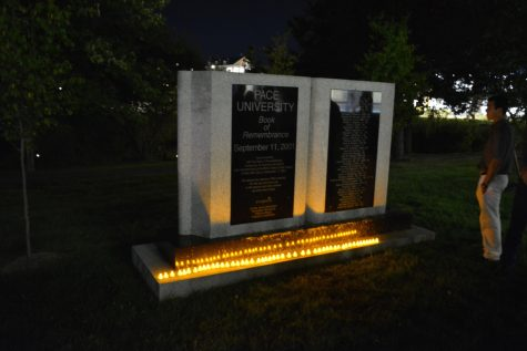 Candlelight Vigil Held in Honor of 9/11 Victims