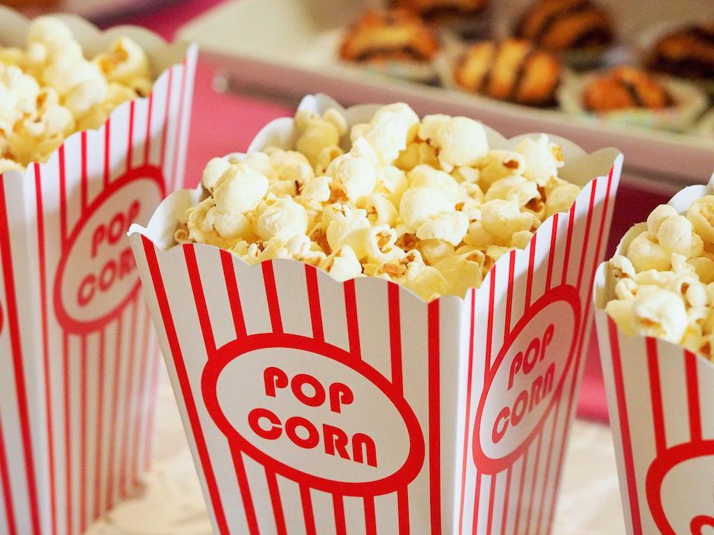 Popcorn via Pexels