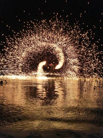 Fire Show in Fisherman
