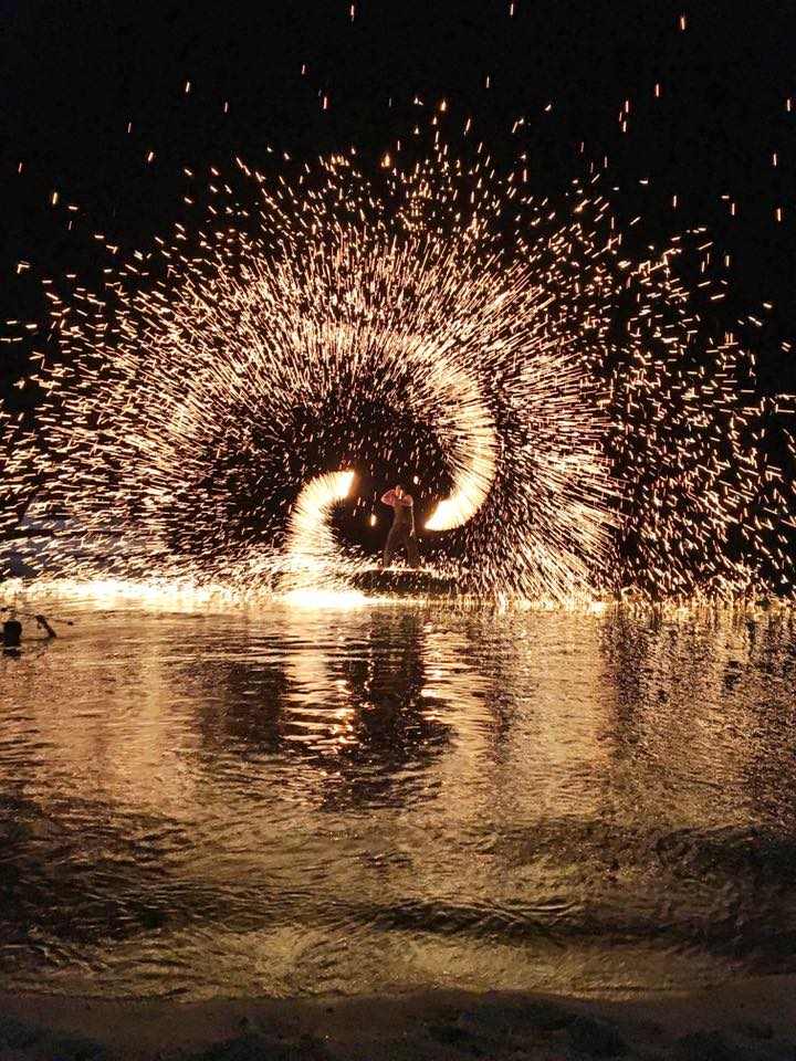 Fire Show in Fisherman's Village, Thailand   (Photo by Michelle Ricciardi)