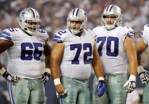 Cowboys Dominate Offensive Line