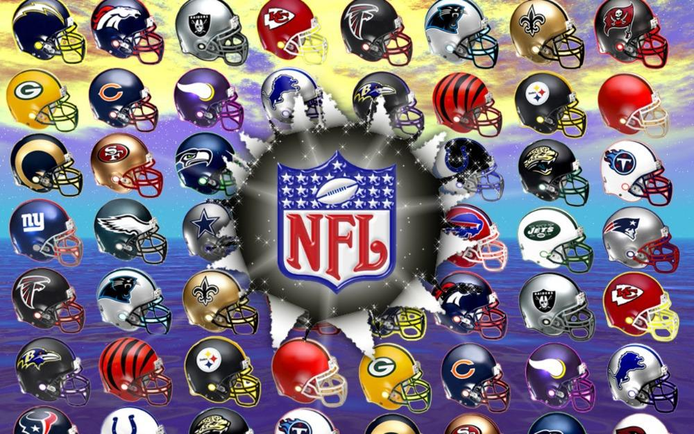 NFL Helmets Logos. Image courtesy of the NFL.