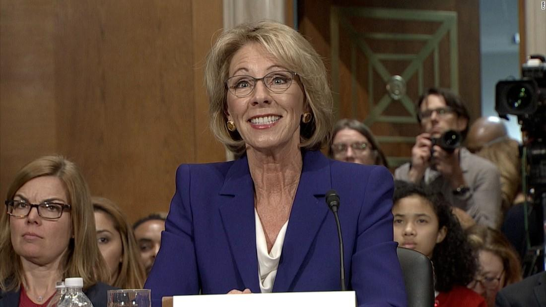 The consequences for public education under Betsy DeVos
