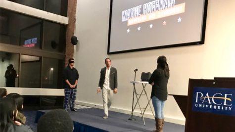 Wayne Hoffman: Mentalist and Illusionist Visits Pace University