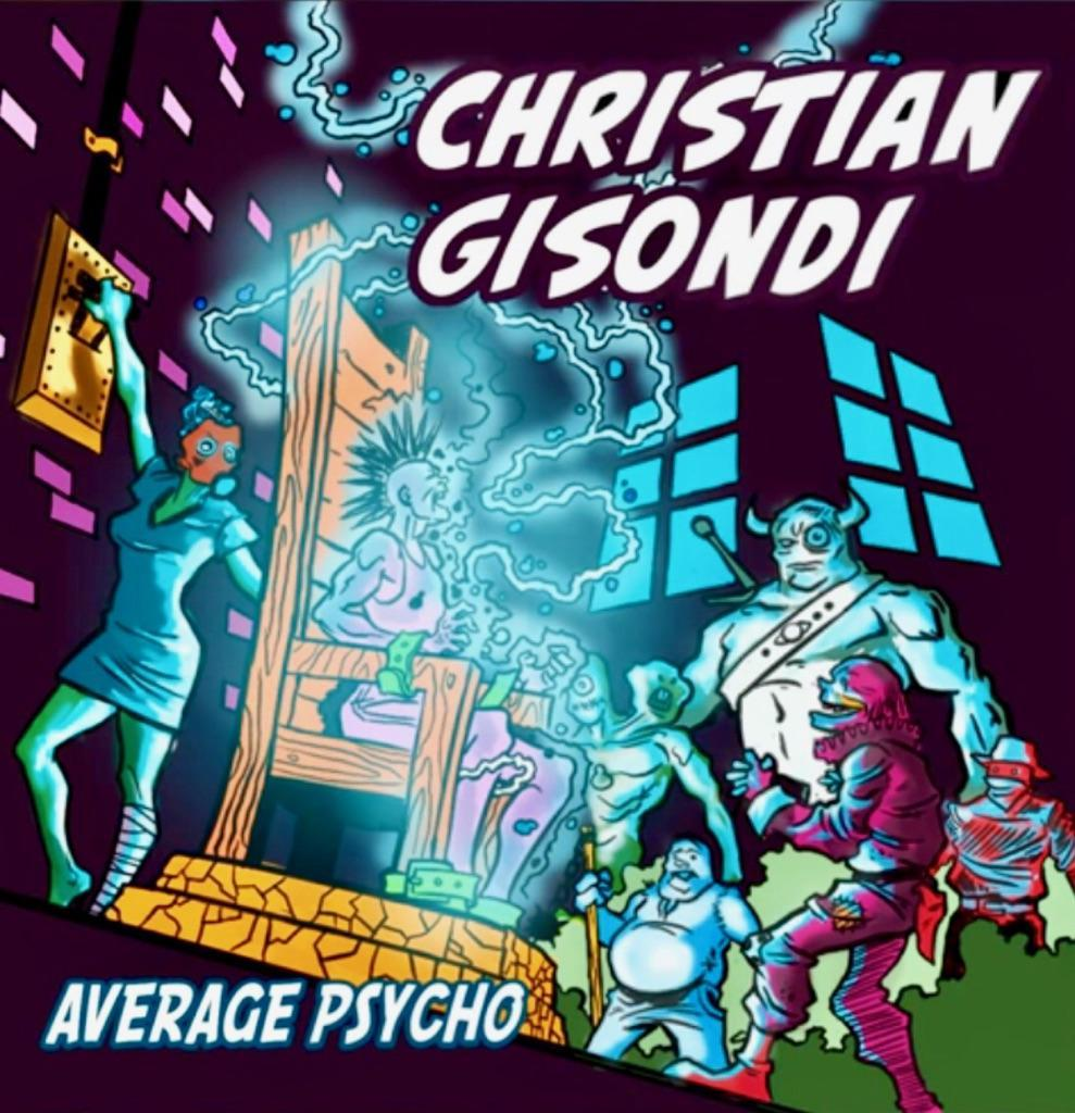 The album cover of Average Psycho. Photo by Christen Gisondi.