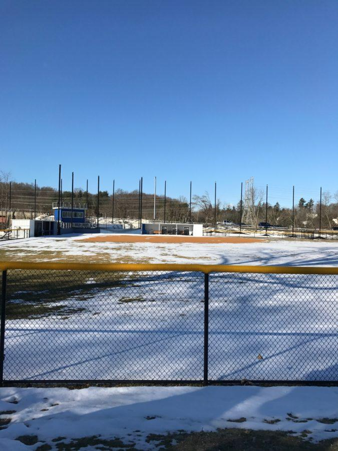 The+softball+field%2C+which+was+recommended+for+an+adjustment+in+netting+due+to+a+ball+hitting+a+car+on+the+Taconic+State+Parkway.+Photo+by+Joseph+Tucci.