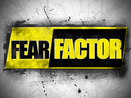 The Fear Factor logo. Photo courtesy of Ember Sections.