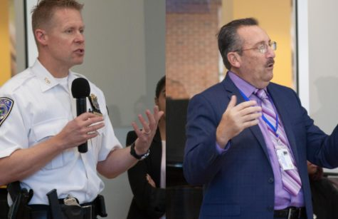 Police Chief and Fire Inspector reach out at SGA meeting