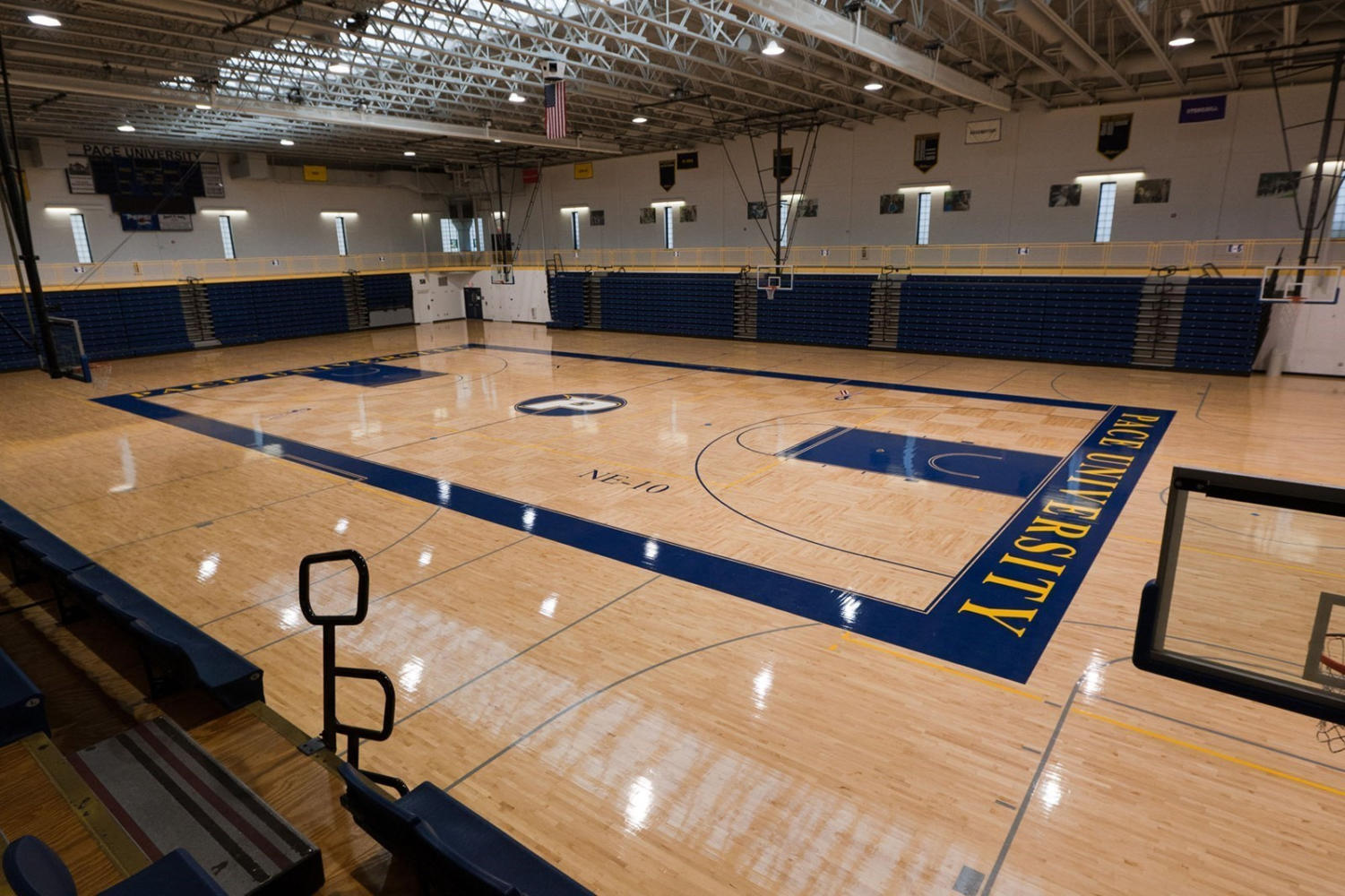 Section 1's decision to move the men's and women's basketball championships to the Goldstein Fitness Center has sparked outrage. Photo Courtesy of Pace U Athletics.