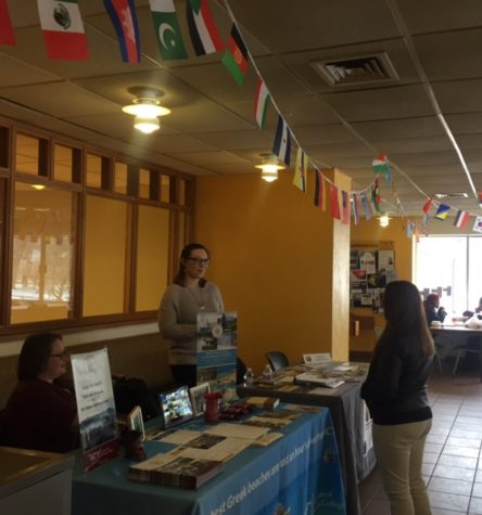 Study Abroad Fair Takes Place Despite Inclement Weather