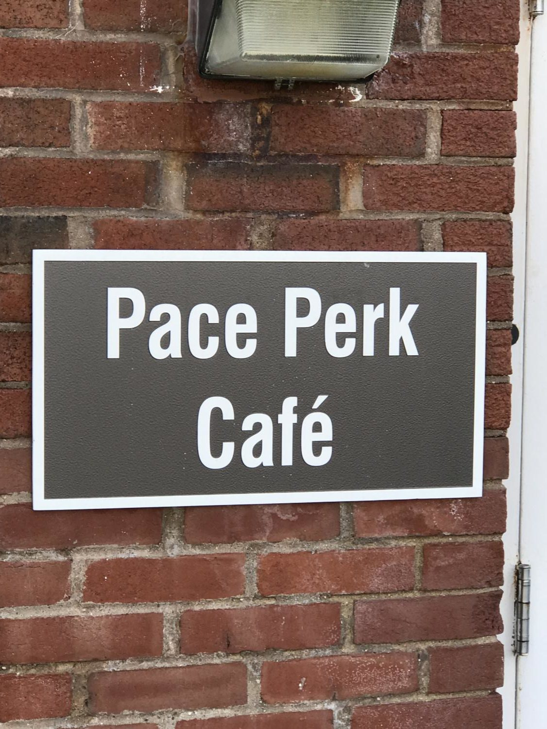 Pace Perk. Once of the establishments only business majors can apply to. Photo Taken by Josiah Darnell