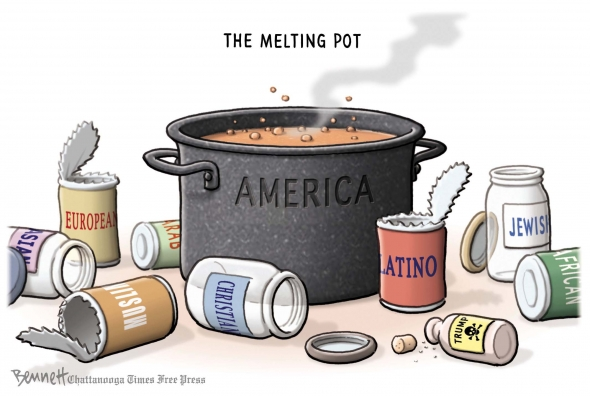 Pot representing America, in this case Pace and the spices that go inside the pot. Photo courtesy of google.