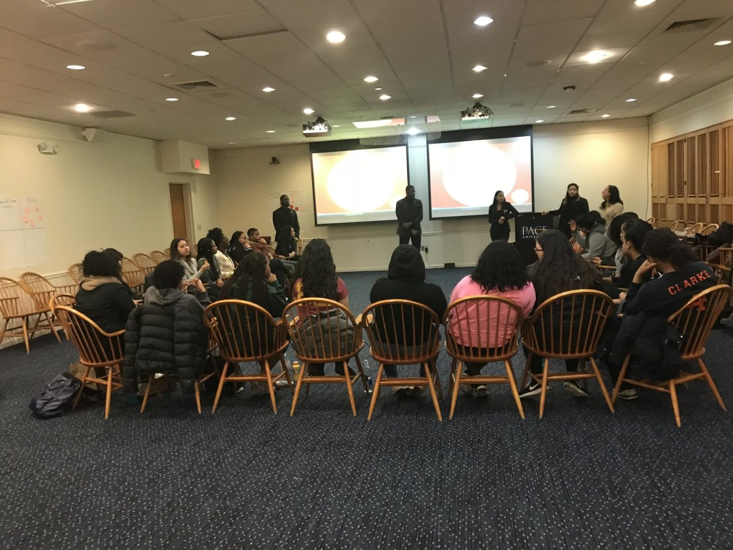Students gathered in Kessel on Tuesday evening to discuss the negative stigmas surrounding mental disabilities.