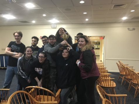 Alpha Chi Rho Hosts Game Night