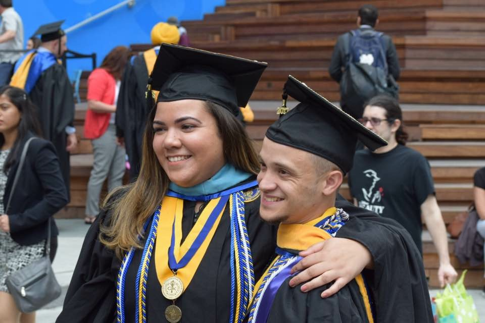Though the goal of college is to obtain a degree and get a job, Pace graduates Christine Latorres and Edwin Rodriguez give advice on how to make the four years on campus worth it. Photo Courtesy of Christine Latorres.