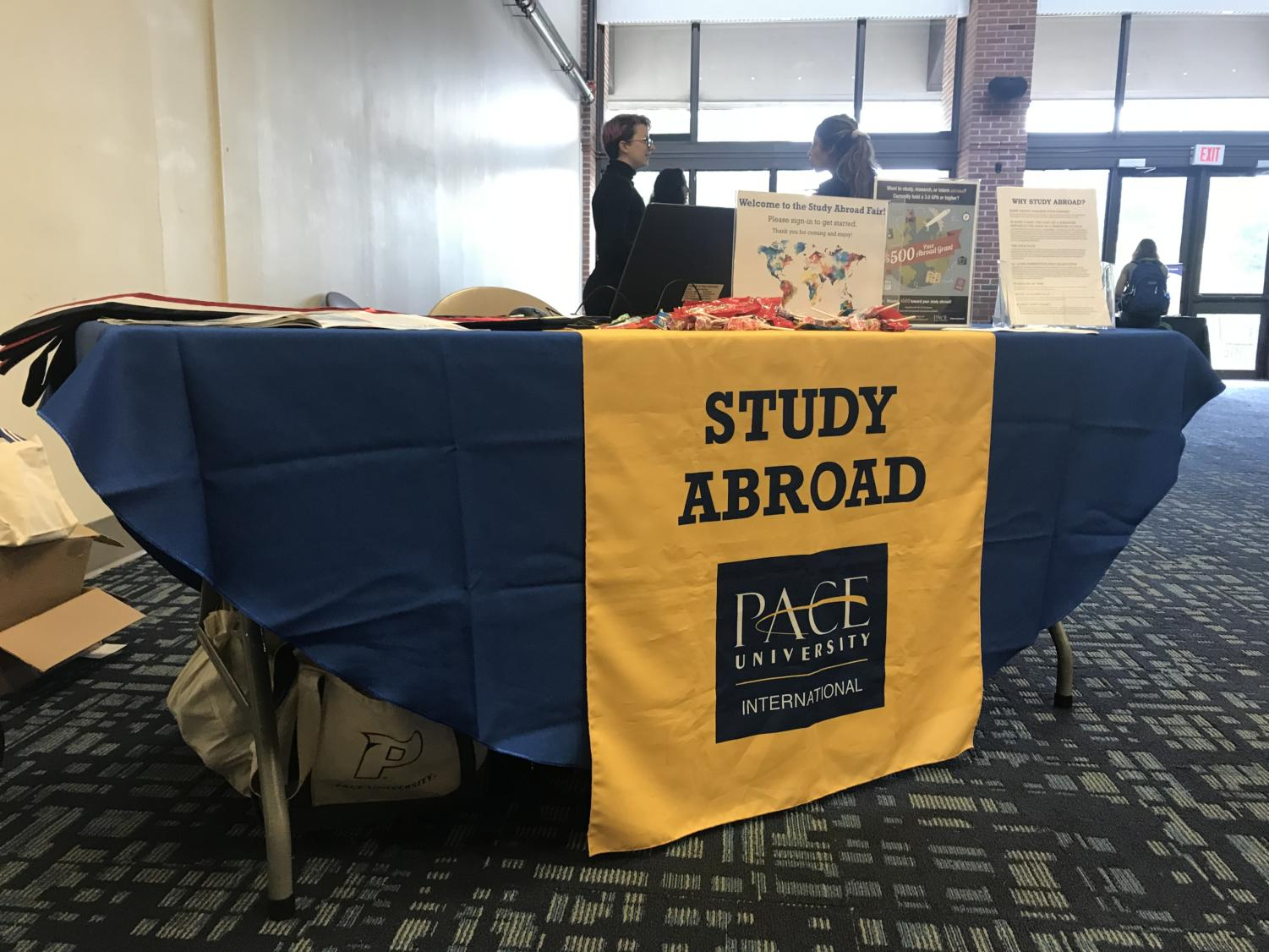 Pace's biannual Study Abroad Fair provides students international opportunities and better details about studying abroad.