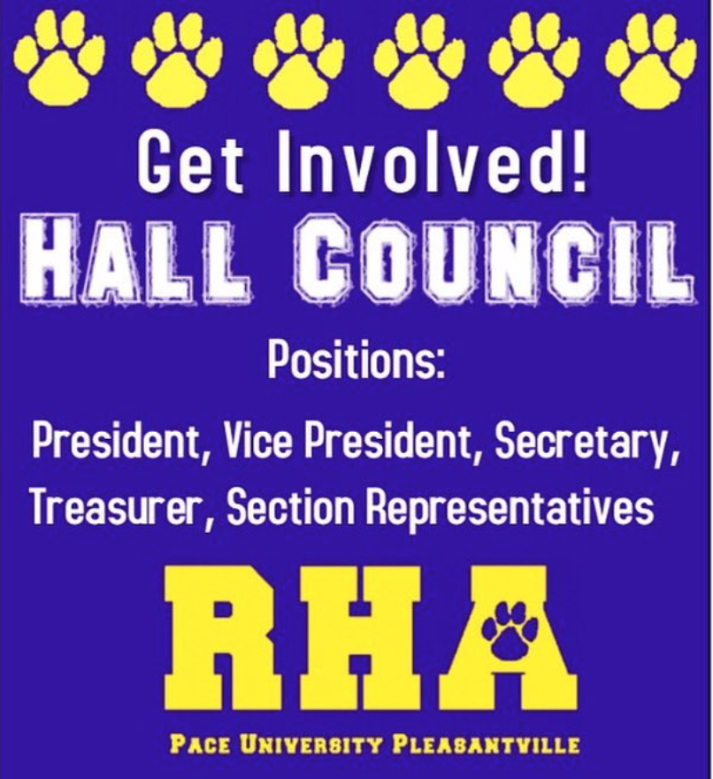 RHA promotes Hall Council and encourages students to get involved in their resident hall.