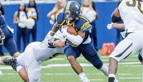 Pace Football Falls Short in Home Opener