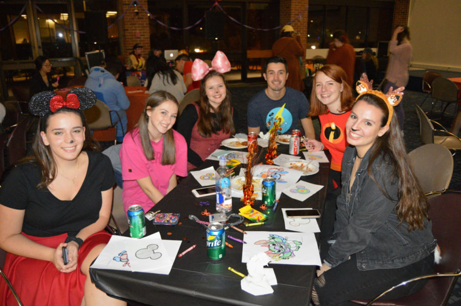 Disney Fan Club hosted its very first event this past Friday night.