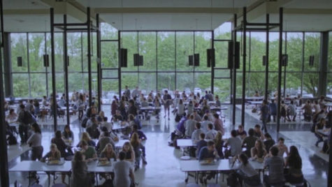 This scene was filmed in the cafeteria of the Briarcliff Campus. Photo courtesy of google.