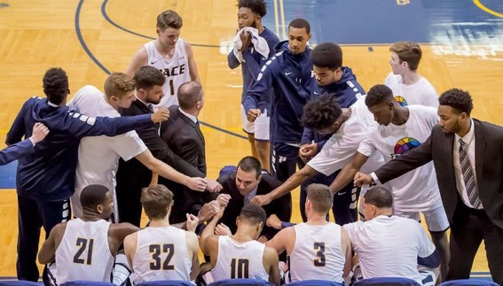 For the first time in seven years, Pace men's basketball appeared in a postseason game.