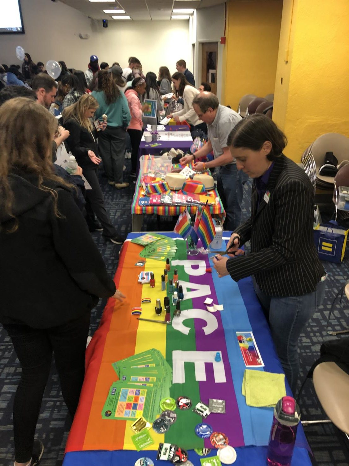 Sex toys were given away, and sex education was delivered during last week's Sexology event.