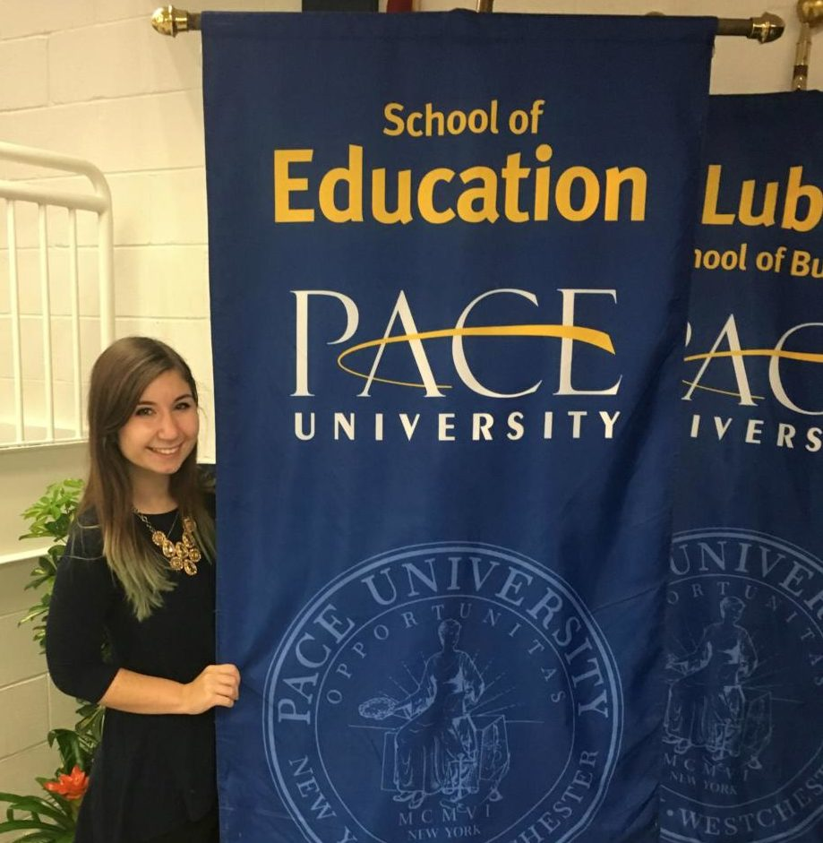Coladarci is set to graduate from Pace's School of Education on May 20.