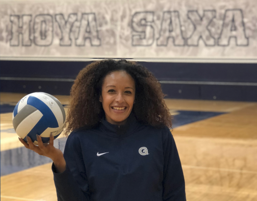 Jackie Granger was previously the Georgetown volleyball assistant coach.