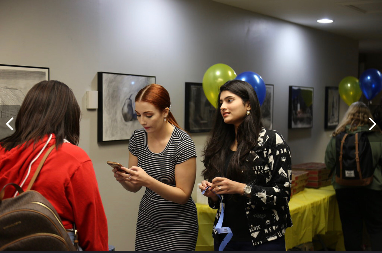 International students becoming involved in the MCVA department.