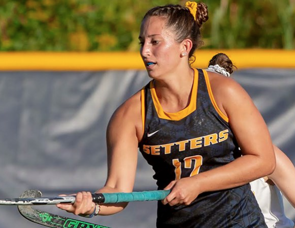 Merante has proved to be a  stellar component of the Pace field hockey team.
