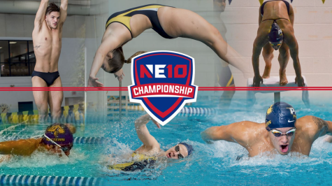 Pace swim and dive prepare for the NE-10 Championship.