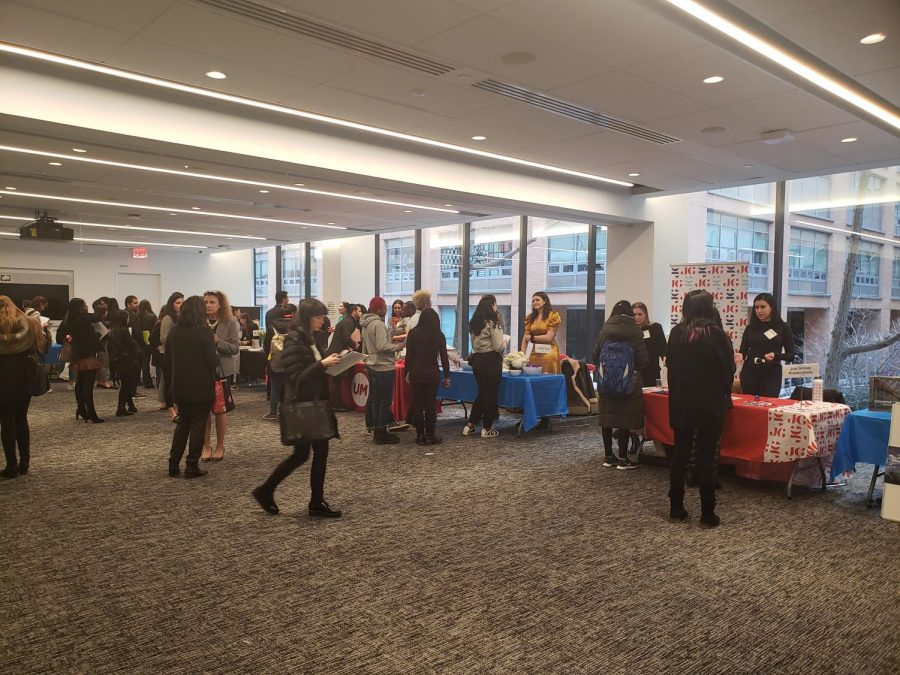 The+Multimedia+and+Internship+Fair+that+took+place+in+the+NYC+campus+attracted+media+majors+from+both+campuses.+