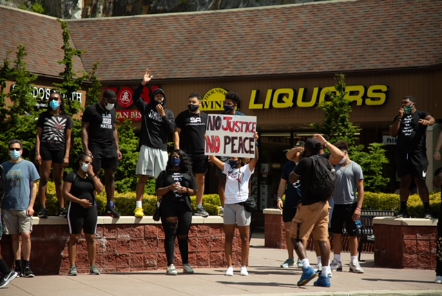 Pace+students+during+a+protest+in+August+in+Pleasantville%2C+N.Y.+