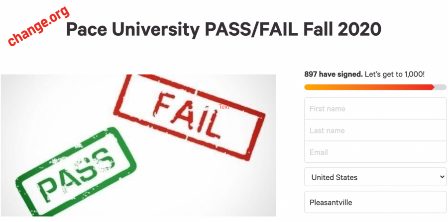 Sophomore education major Ilda Radoncic started pass/fail petition with her friends to demand flexibility as students try to adjust hybrid model