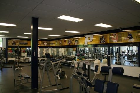 Goldstein Fitness Center is now open for residential student use for the first time since March of 2020.