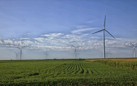 Wind turbines in Missouri.
