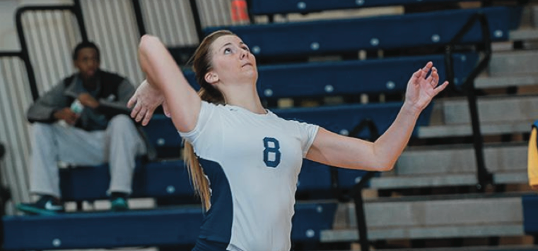 Setters Volleyball Falls in Close Match Against Ravens