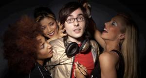 Four Guys One Girl: Pace Groupies Get Around