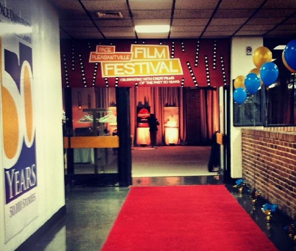 Pictured above, a red carpet leads to Gottesman Room where a gala was held following the film festival.