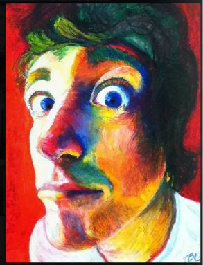 Sophomore Taylor Longenberger adopts several different impressionism and pop art techniques.