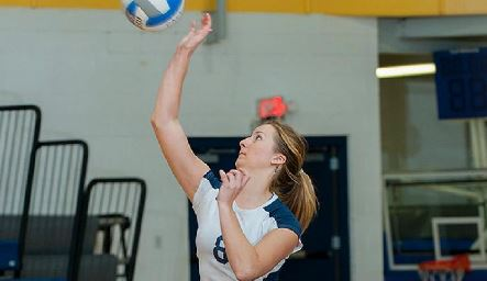 Pace's Women's Volleyball Team finished their 2013 season with a record of 4-26. (Photo from pacesettersathletics.com)