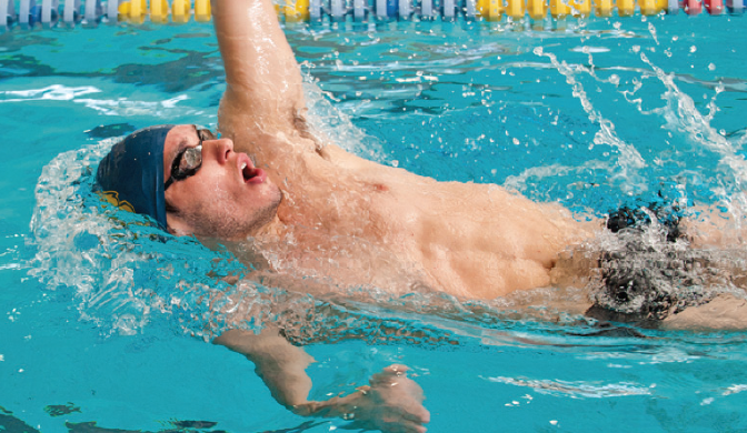 Saturday Recap: Swimming And Diving At Met Championships; Basketball Loses Double Header