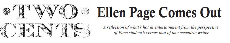 Ellen Page Comes Out