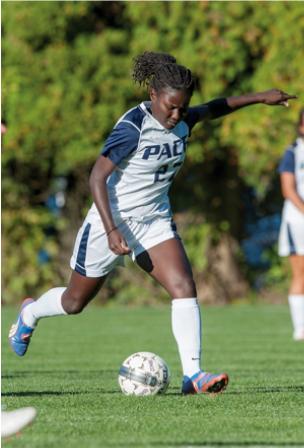 Senior Setters Spotlight: Women's Soccer Player Fatima Ba