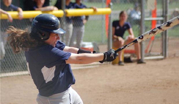 Softball Splits Double Header; Franklin Pierce Sweeps