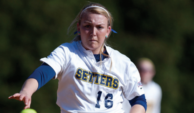 Opening Series For Softball Ends In Split