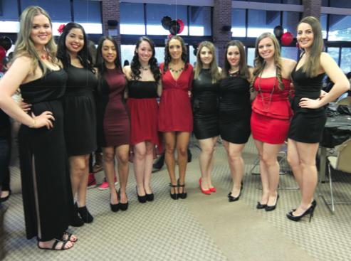 Delta Phi Epsilon Hosts Second Annual 65 Roses Event