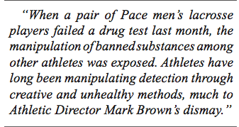 In Response to 'Drug Test Failures Reveal More'