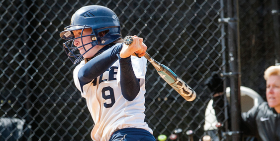 Junior business management major and setter softball shortstop Jeane Drury had 2 RBis in the Setters' game 2 win.